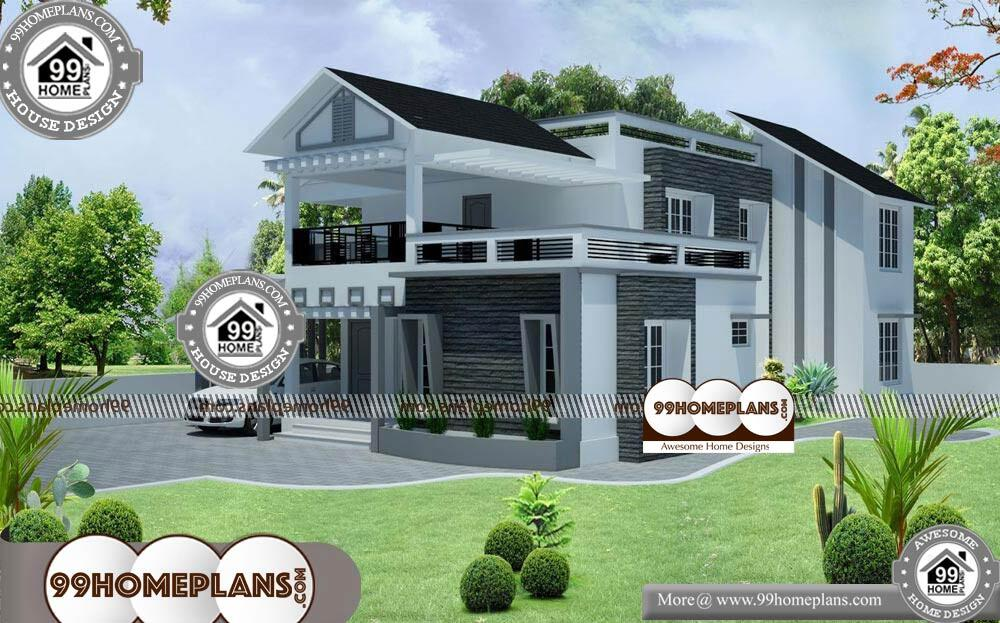 Best House Front Elevation - 2 Story 3144 sqft-Home