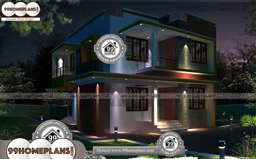 Best Small House Plans - 2 Story 1450 sqft-Home