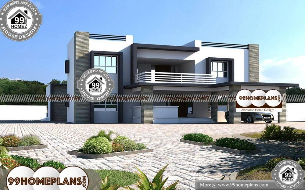 Best Two Storey House Designs - 2 Story 4500 sqft-Home
