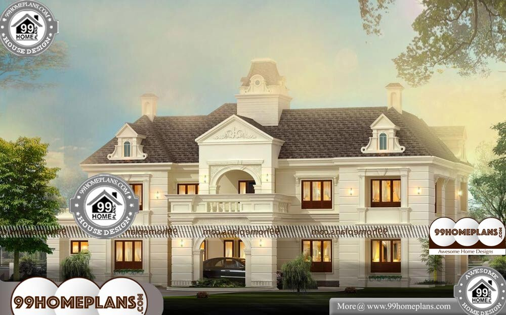 Bungalows Plans And Designs - 2 Story 3800 sqft-Home