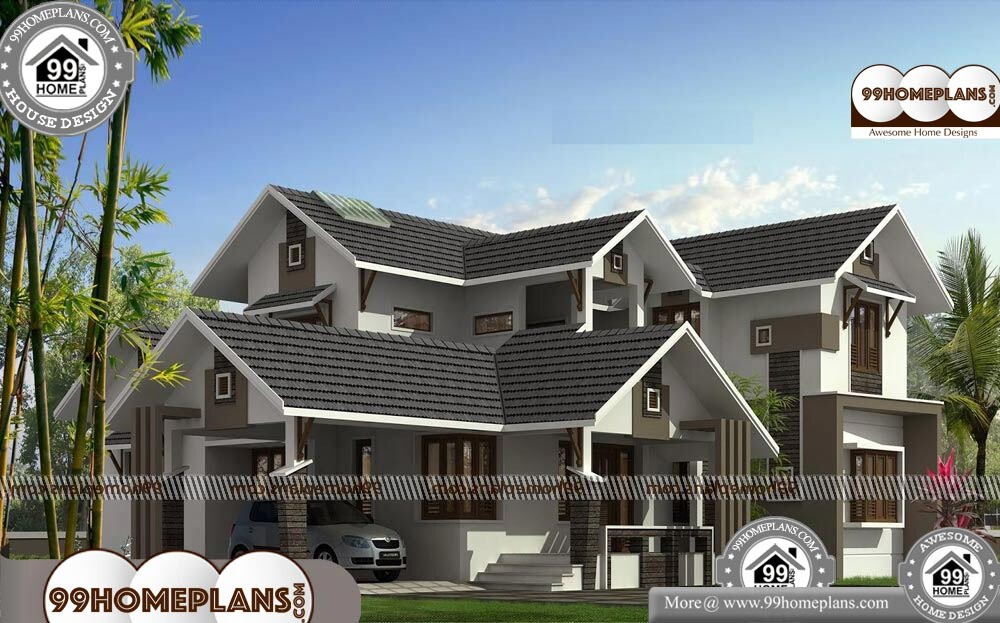 Contemporary House Designs and Floor Plans - 2 Story 2700 sqft-Home