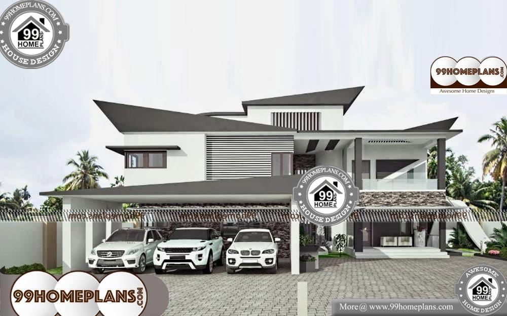 Contemporary House Plans for Sale - 2 Story 15000 sqft-Home
