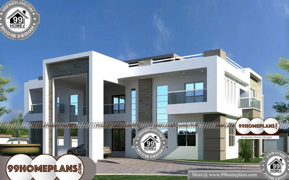 Design for Two Storey House - 2 Story 4000 sqft-Home