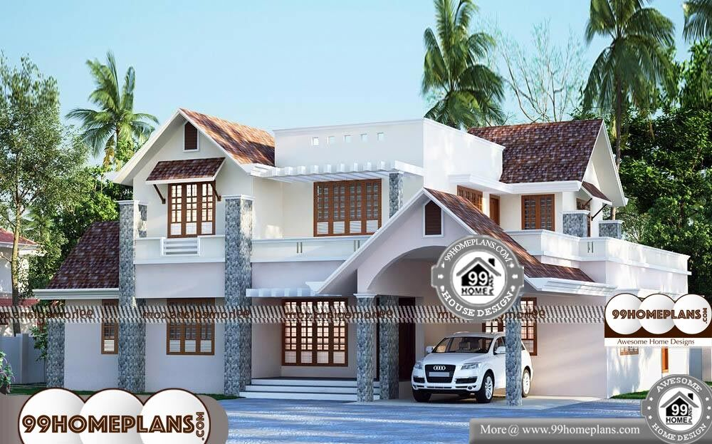 Double Storey Homes Designs - 2 Story 2755 sqft-Home