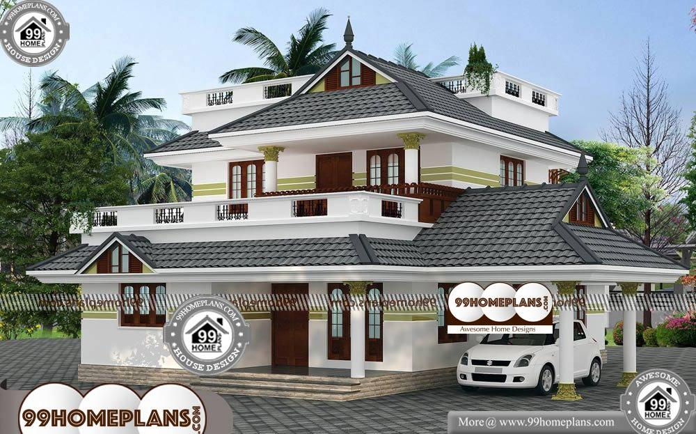 Double Storey House Plans For Narrow Blocks - 2 Story 1940 sqft-Home