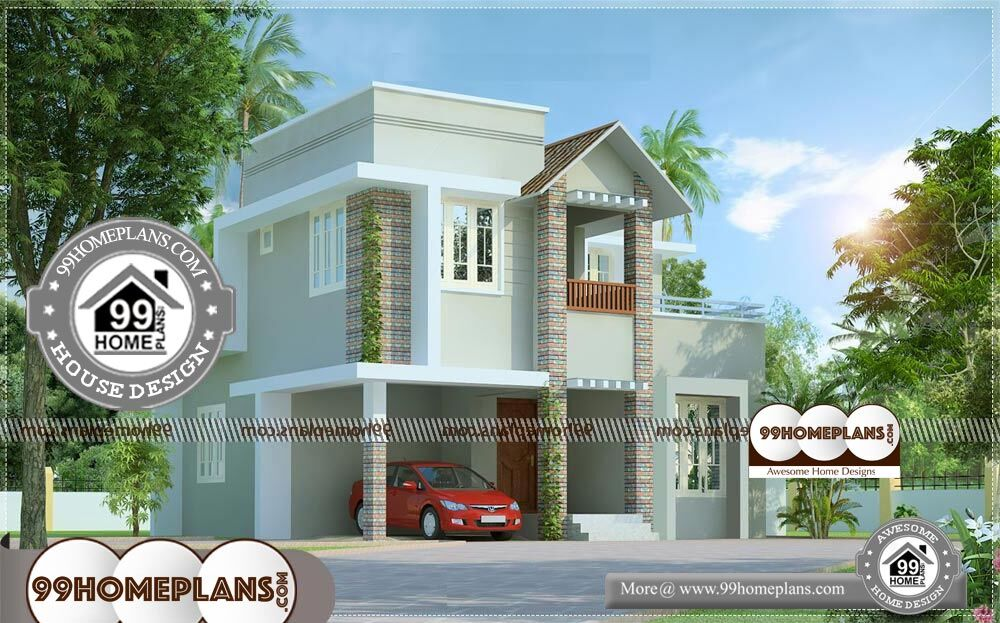 Elevation Architecture - 2 Story 1300 sqft-Home