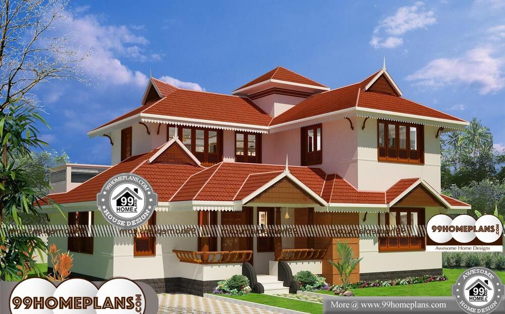 Front Elevation Designs for Small Houses - 2 Story 1800 sqft-Home