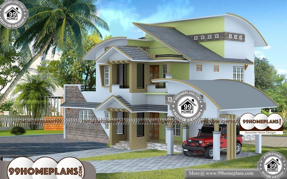 Homes For Narrow Lots - 2 Story 2050 sqft-Home