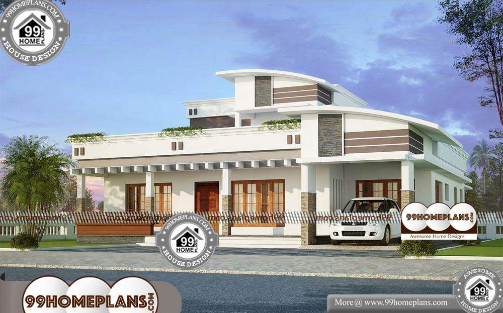 House Elevations Indian Designs - 2 Story 2370 sqft-Home