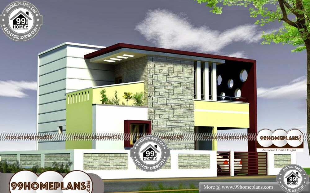 House Plan And Elevation Drawings | 500+ New Modern 2 ...