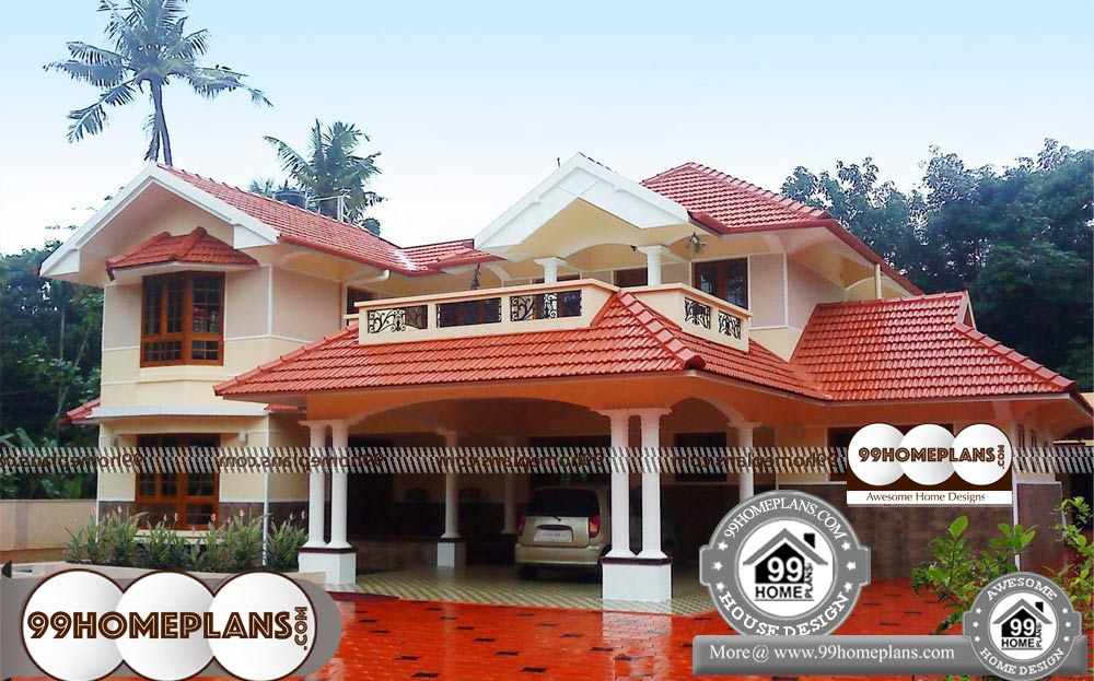 House plans by lot size 4 bedroom two storey house plans for Lot size house