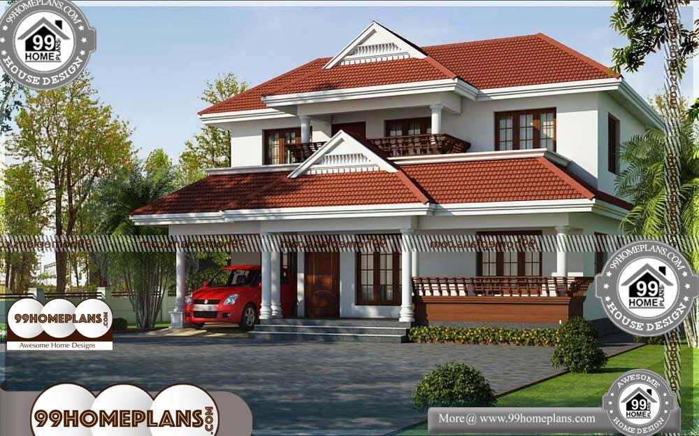 Luxury Home Plans 2020.Indian Home Elevation Photos 50 Luxury Double Storey House