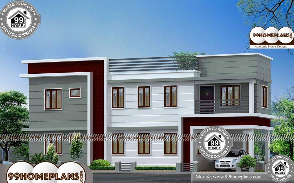 Veedu Front Elevation : Latest front elevation designs best two story home plans