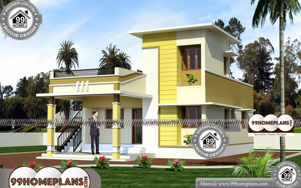 Low Cost Home Plans - Single Story 1048 sqft-Home