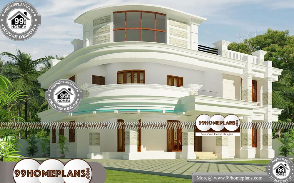 New Home Front Elevation Design - 2 Story 2700 sqft-Home