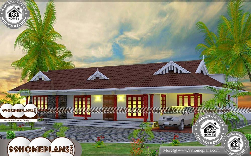 One Story House Floor Plans - Single Story 2200 sqft-Home