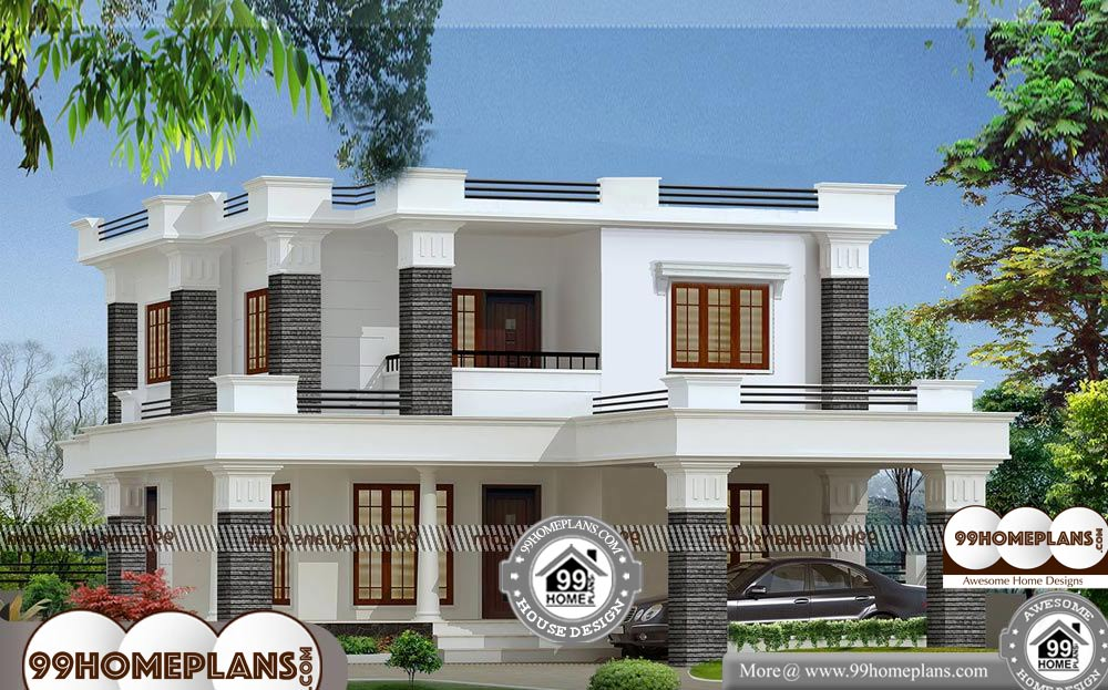 Residential Architecture Design - 2 Story 2000 sqft-Home