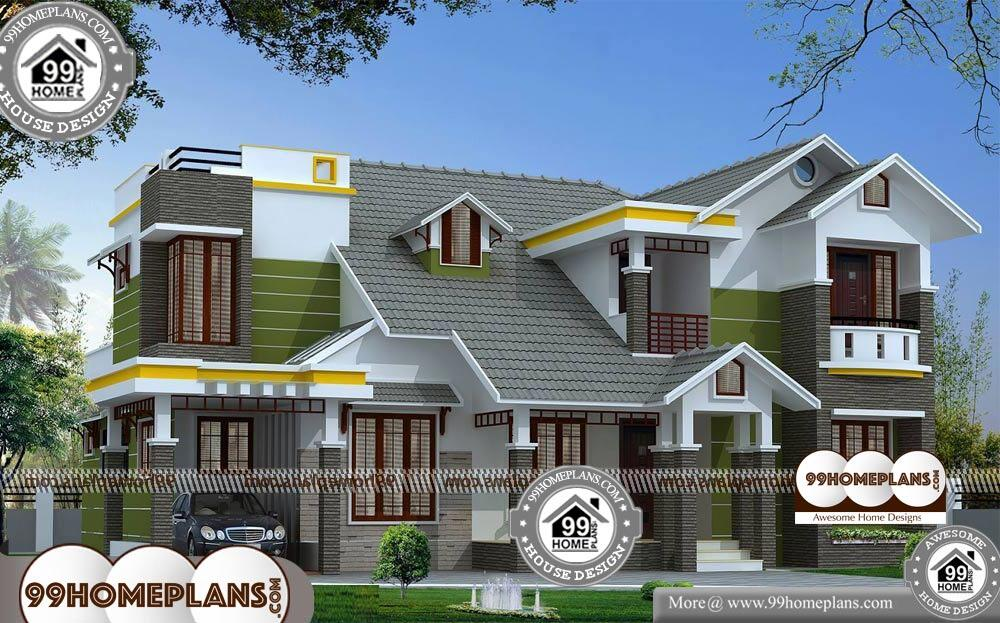 Simple Affordable House Plans - 2 Story 2780 sqft-Home