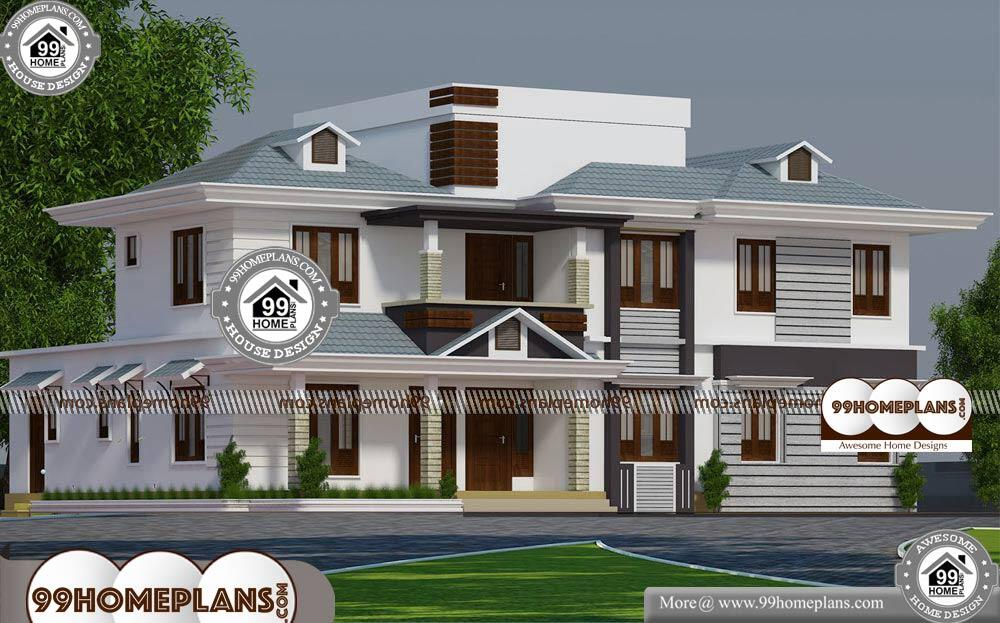 Simple House Designs And Floor Plans - 2 Story 3315 sqft-Home