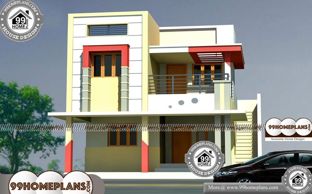 Simple Modern House Design Small Two Story Floor Plans Design Ideas