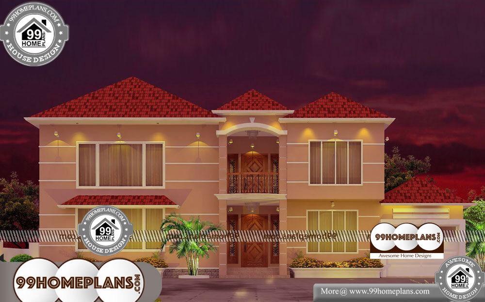 Simple Small House Design 75 Home Front Design Double Floor Plans