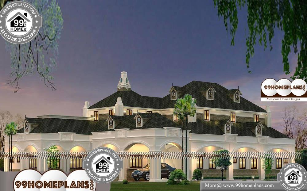 Small Bungalow House Plans Indian - 2 Story 4200 sqft-Home