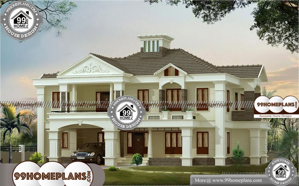 Small Bungalow Plans - 2 Story 3500 sqft-Home