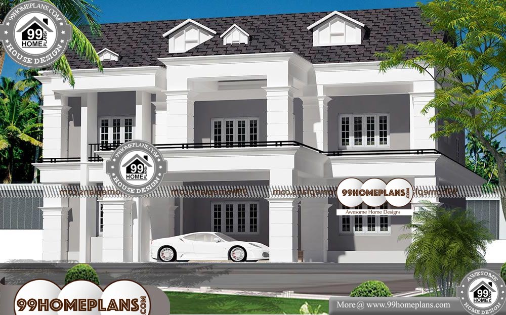 Small Bungalows Plans - 2 Story 4200 sqft-Home