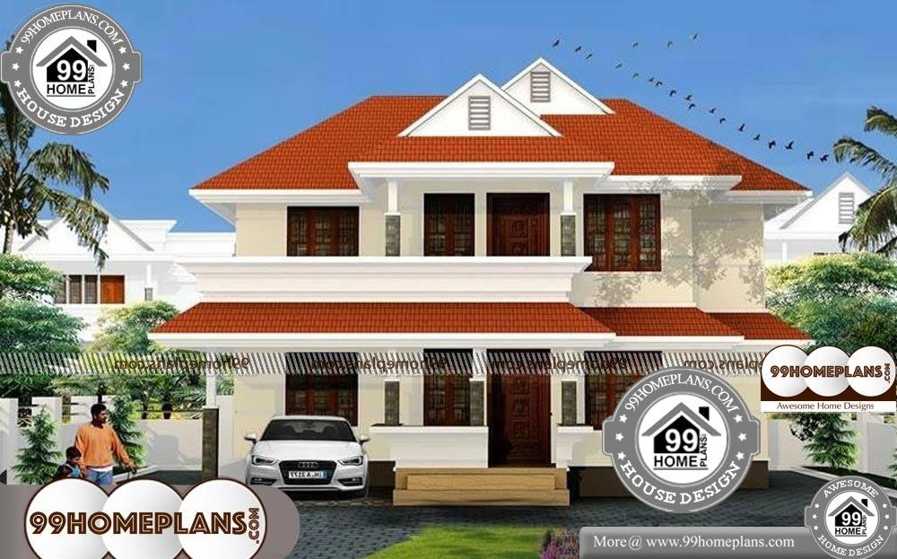Small Cottage Designs - 2 Story 3000 sqft-Home