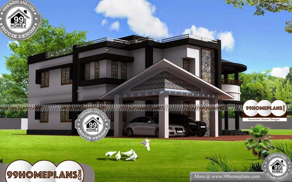 Small Craftsman Style House Plans - 2 Story 3327 sqft-Home