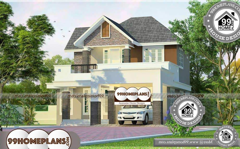 Small House Architecture Design - 2 Story 1398 sqft-Home