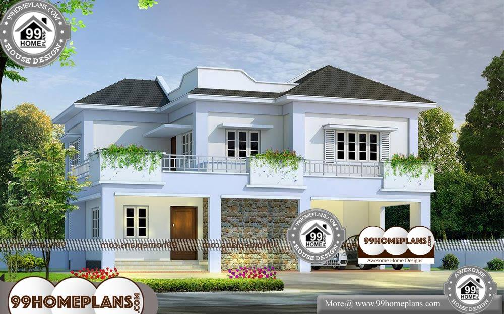 Small House Model Design - 2 Story 2300 sqft-Home