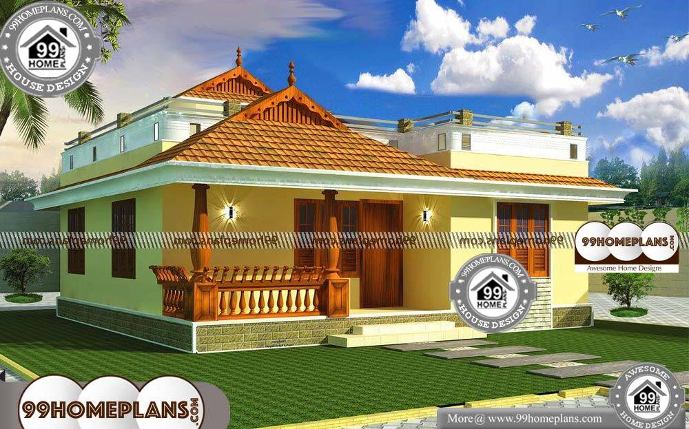 Traditional Single Storey House Designs - Single Story 800 sqft-Home