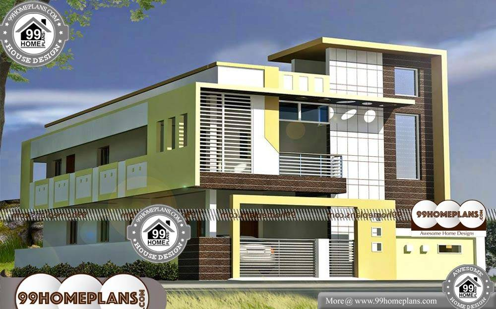 Villa Plans And Elevations - 2 Story 3484 sqft-Home