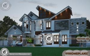 Amazing House Plans with Double Storey Homes Designs Collections