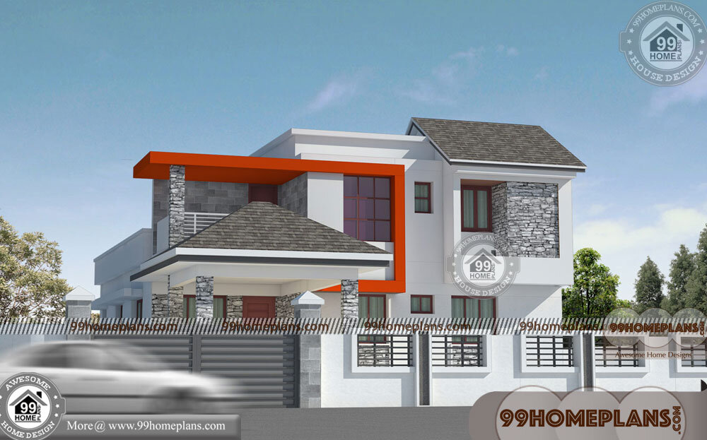 Beautiful Low Budget Homes 80 Double Storey Small House Plans