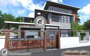 Beautiful Low Cost House Designs | 90+ Two Storey Small House Design