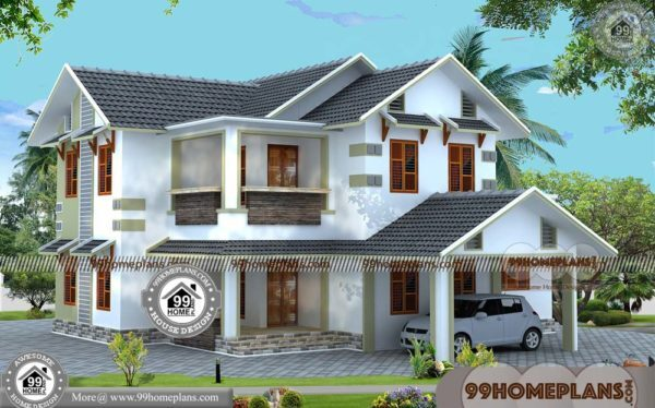 Beautiful Small House Design | 50+ Modern Double Storey House Designs