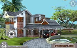 Beautiful Small House Plans | Kerala Model House Plans Low Cost Home