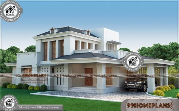 Best 3 bedroom house plans 50 kerala contemporary house for Top 50 modern house design