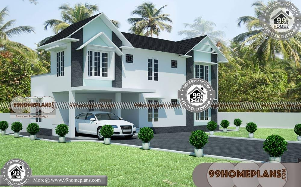best 3d elevation of house 25 small 2 story house floor plans ideas - View Two Story House Small House 2 Storey House Floor Plan Design 3D Pics