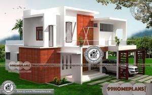 Best Front Elevation of House in India 70+ Two Floor House Design Plans