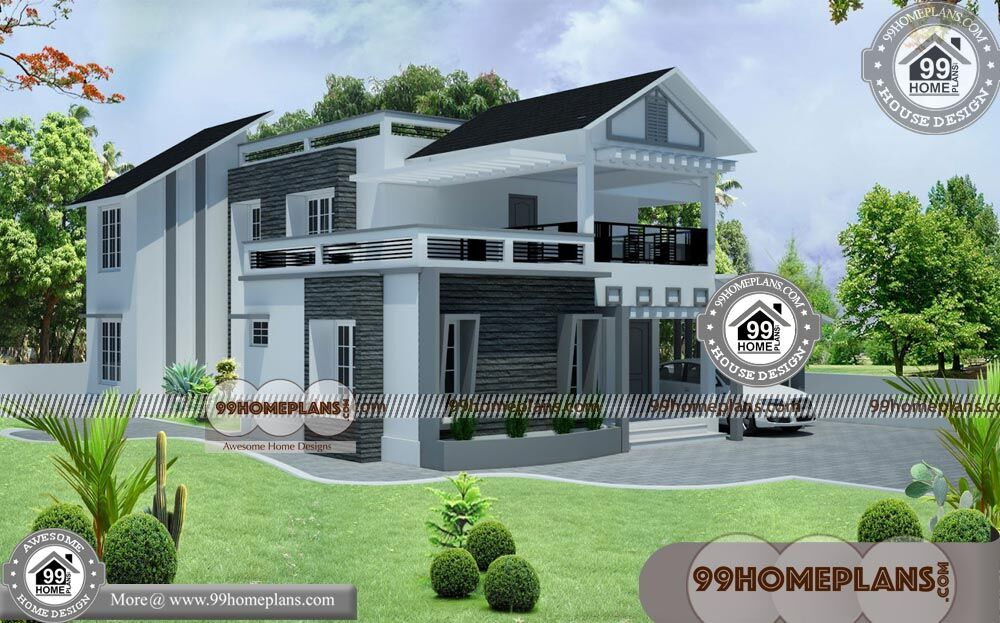 Best House Front Elevation | 100+ Two Story Homes Designs Small Blocks