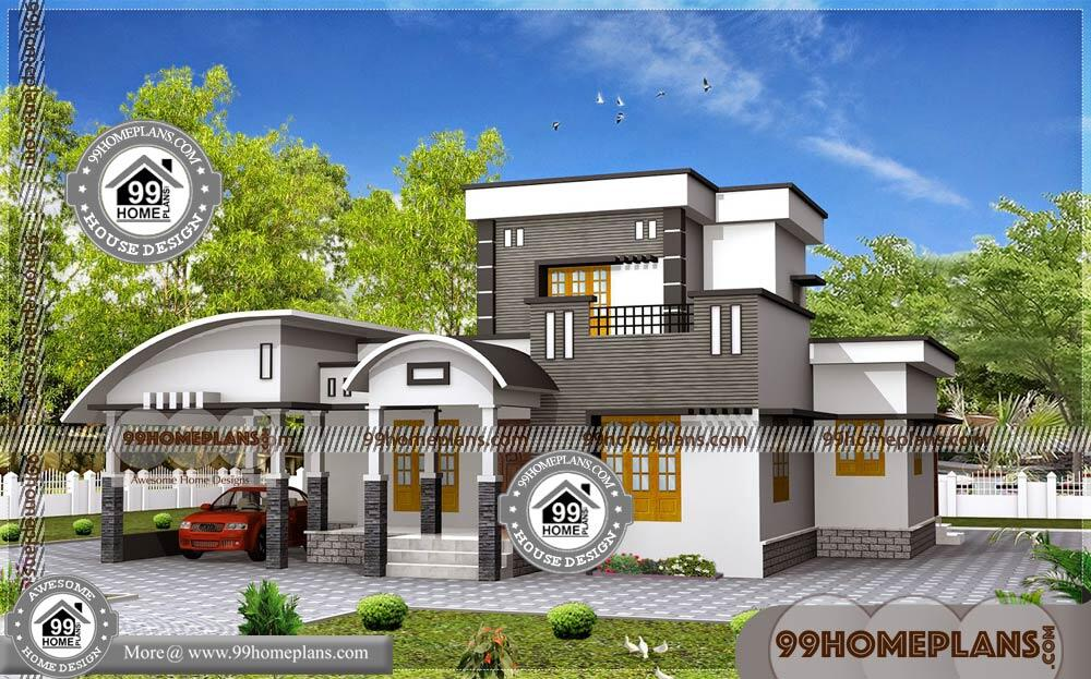 Best Low Cost House Design Plans   90+ Latest Modern House Plans