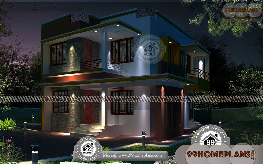 Best Small House Plans & 100+ 2 Storey Home Plans, Modern Collections