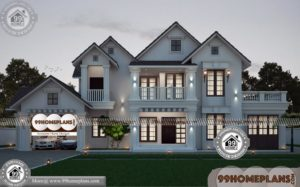 Budget House Plans Kerala | Best Two Story House Design Collections