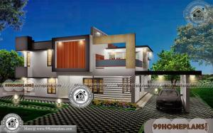 Bungalow Exterior Design 90+ Two Storey Residential House Plans Free