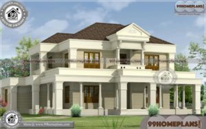 Bungalow Homes & 100+ 2 Story House Plans With Garage Collections