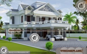 Bungalow Town Homes & 120+ Floor Plans For Small Two Story Houses