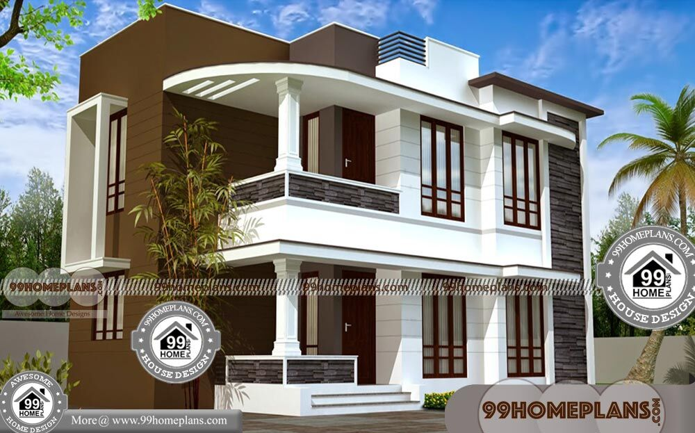 Contemporary House Design Plans 90+ Two Storey Homes Online Free